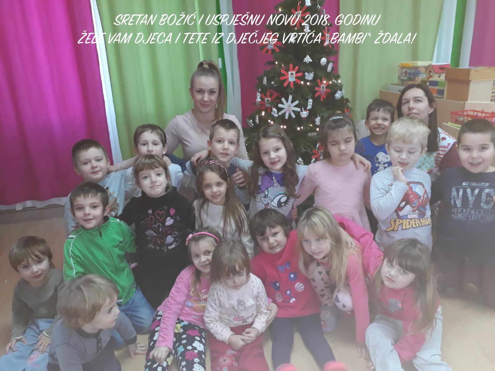 Sretan Božić i uspješnu Novu 2018. godinu.