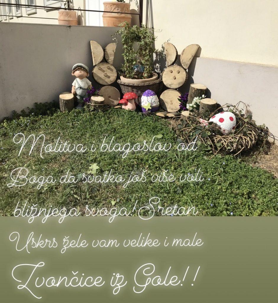 Sretan Uskrs želi vam Dječji vrtić Zvončica