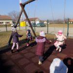 Zajednički boravak na zraku djece  svih skupina!