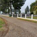 Završeni radovi na izgradnji ograde oko mjesnog groblja u naselju Gola (I. faza)