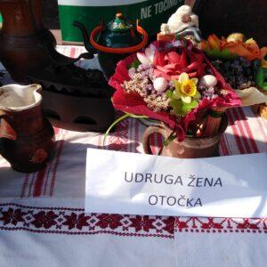 Udruga žena Otočka predstavila Općinu Gola na manifestaciji Skrivena Podravina na  jezeru Šoderica